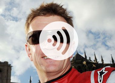 April's audio podcast with Allan McNish