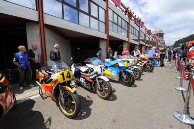 Bikers' Classic: a step into the past
