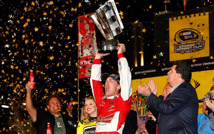 Kevin Harvick: 2014 NASCAR Sprint Cup champion