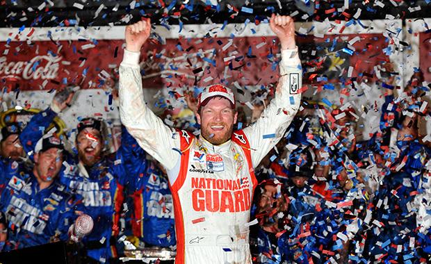 Dale Earnhardt Jr wins Daytona 500