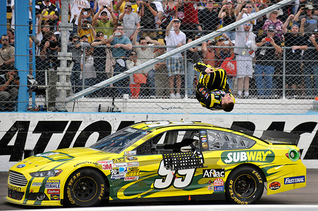 NASCAR title run takes shape