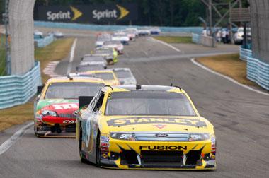 NASCAR the winner at Watkins Glen