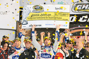 Famous fifth for Jimmie