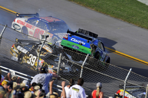 High drama at Talladega