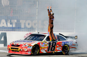 Busch and Toyota are NASCAR's hottest combination