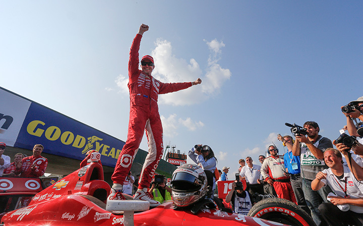 Dixon goes from last to first
