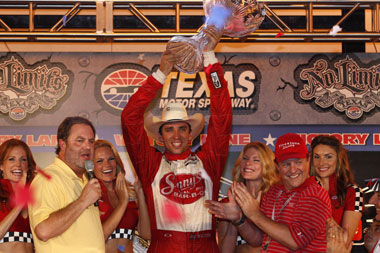 Justin Wilson's first oval win