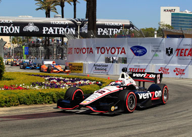 Will Power wins at Long Beach