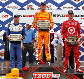 Hunter-Reay keeps New Hampshire win