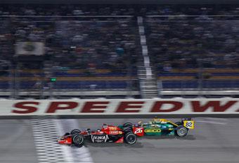 Andretti ends IndyCar winless streak