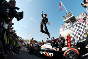 Power stakes IndyCar claim