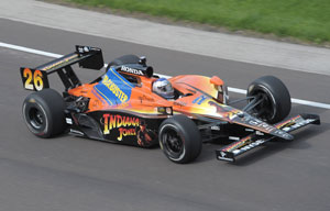 Indy qualifying starts amid sadness