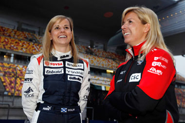 Susie Wolff: the next girl on the grid?