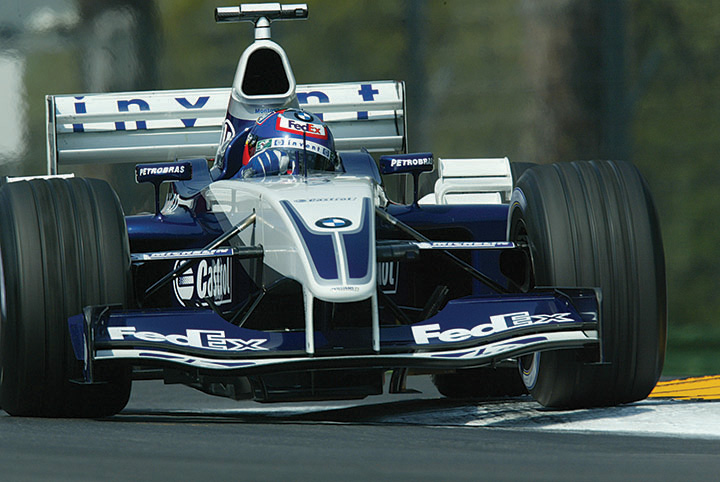Great racing cars: 2003 William-BMW FW25