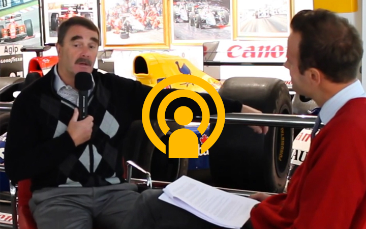 Nigel Mansell podcast