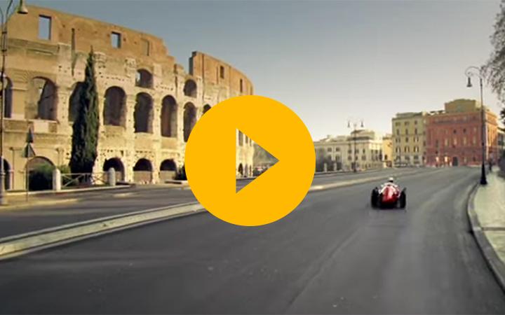 Ferrari takes to the streets