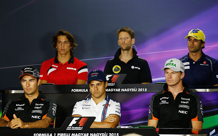 The racing driver's ego