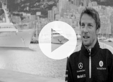 Hamilton and Button on Monaco