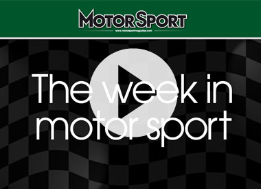 The week in motor sport (01/08/2011)