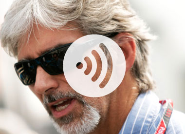March's audio podcast with Damon Hill