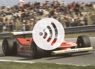 September's audio podcast with Jody Scheckter (2009)
