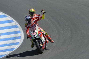 Rossi's tactical retreat