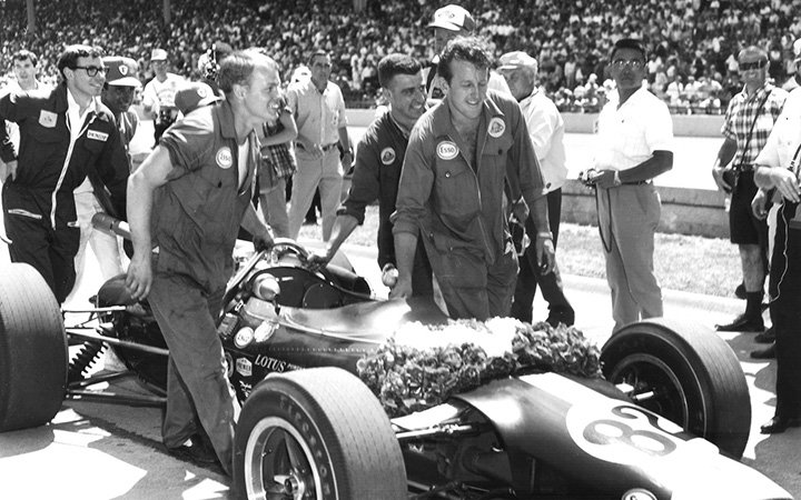 Jim Smith: Clark's Indy mechanic
