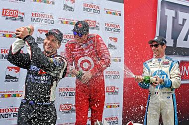 IndyCar championship tightens up