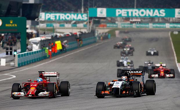 F1's minimum weight limit