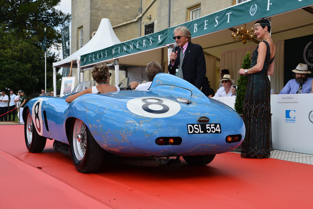 Judging at Syon Park's Salon Privé