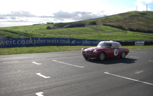 Into the fray at Knockhill…