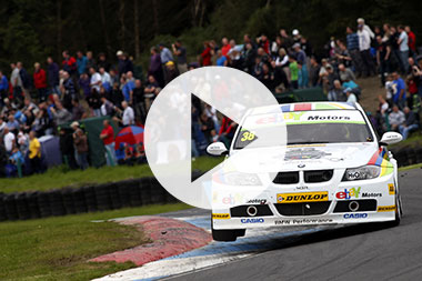BTCC Knockhill highlights