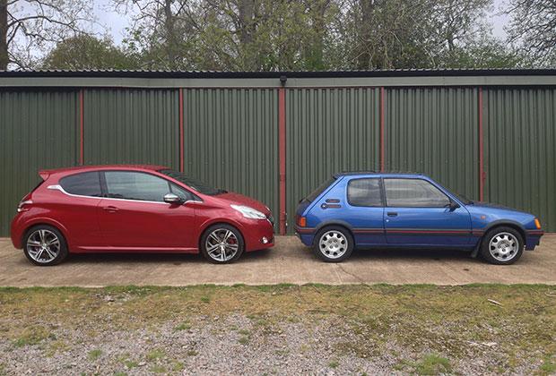Peugeot 205GTI vs 208GTI