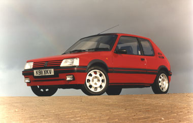 Replacing the brilliant Peugeot 205GTI