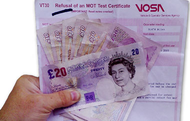 The real cost of MOT exemption