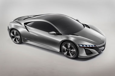 The new Honda NSX is here