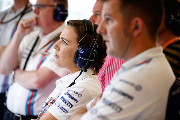 Claire Williams joins Women in Engineering event panel