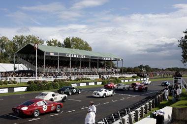 Silver and gold at Goodwood