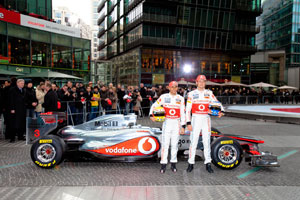 Cool reception for the new McLaren