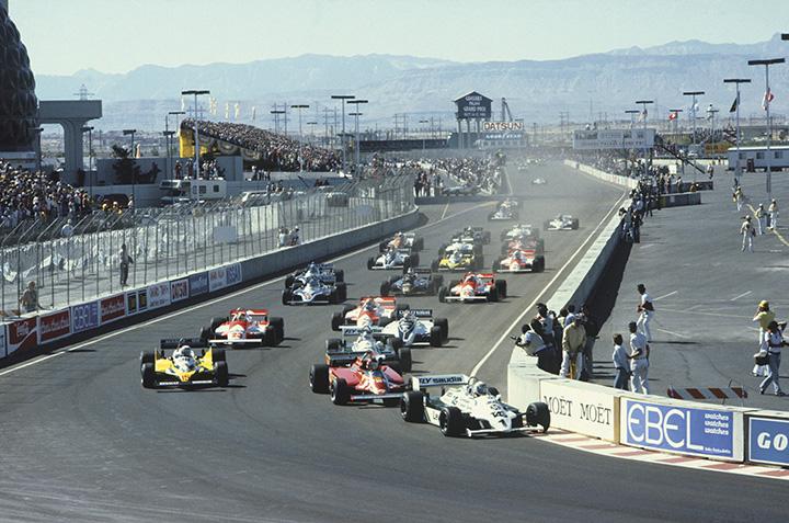 Racing in Las Vegas