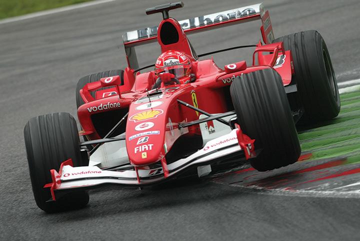 Great racing cars: 2004 Ferrari F2004