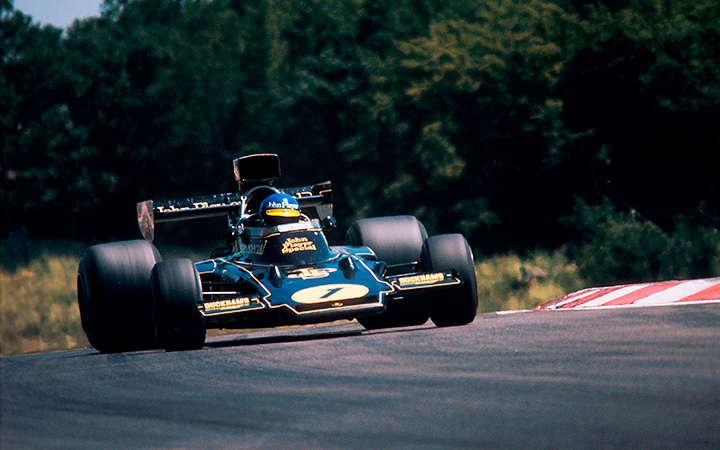 The end of the Lotus 72