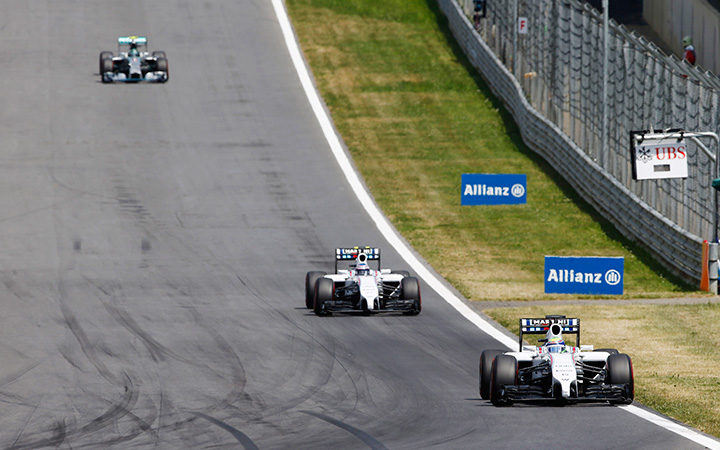 Overtaking your team-mate