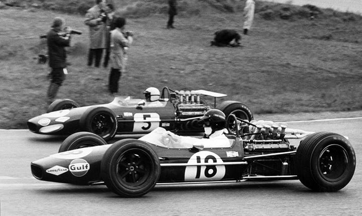 Gurney on Brabham