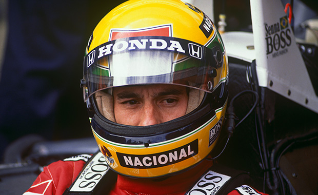 Ayrton Senna at McLaren
