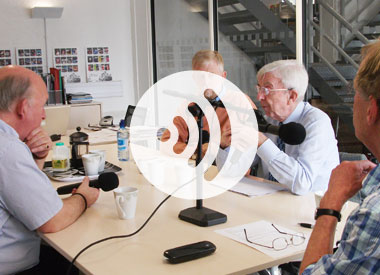 Audio podcast with Tony Brooks