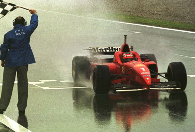 I was there when… 1996 Spanish GP