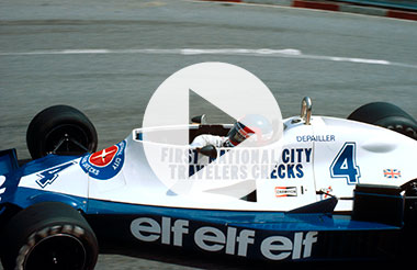 Patrick Depailler at Long Beach