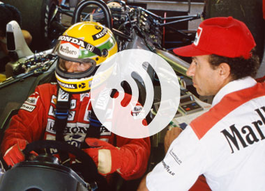 Motor Sport Senna evening podcast