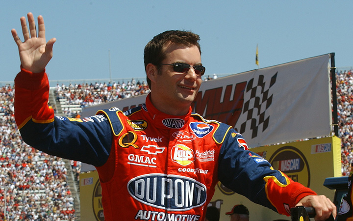 The outstanding career of Jeff Gordon